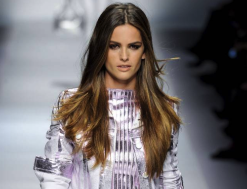 Layered hair is the secret to adding soft volume